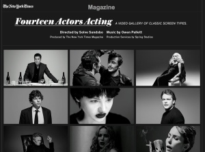 14 actors acting score by owen pallett
